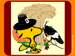cartoon thanksgiving wallpaper woodstock