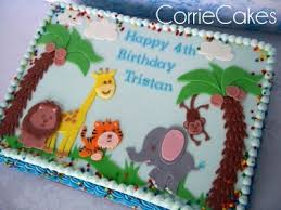 jungle friends by corrie76 on cakecentral com cakes pinterest