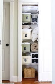 best 25 small linen closets ideas on pinterest bathroom closet