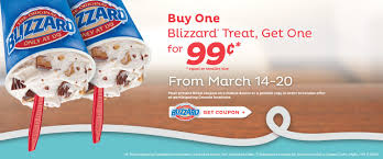 dairy queen thanksgiving dairy queen canada offer buy one get one for 0 99 blizzards