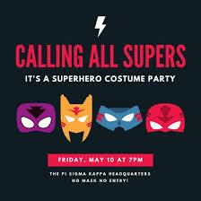 superhero invitation templates canva