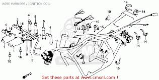 honda cb750k 750 four k 1979 z usa wire harness ignition coil