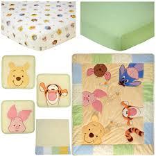 Disney Nursery Bedding Sets by Disney Baby Peeking Pooh 7 Piece Crib Bedding Set Toys