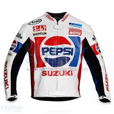 motorbike coats buy kevin schwantz pepsi suzuki gp 1988 motorbike jacket