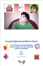 blue u0027s clues birthday party sunny with a chance of showers