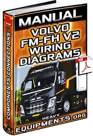 service manual volvo fm fh v2 trucks wiring diagrams components