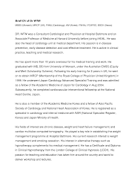 cover letter template for doctors resume format doctor cv resume