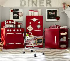 Pottery Barn Kids Store Location Red Retro Kitchen Collection Pottery Barn Kids