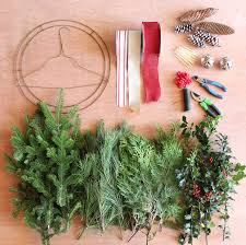 how to make wreaths how to make a christmas swag outdoor christmas wreaths and swag