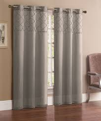 Silver Window Curtains Silver Curtain Panels Furniture Ideas Deltaangelgroup