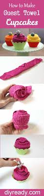 kitchen towel craft ideas how to guest towel cupcakes diy tutorial towels and tutorials