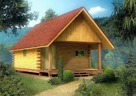 16x24 post and pier cabin house plan 6025 at family home plans