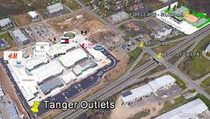 Tanger Outlet Map Retail Lease Up To 55 000 Sf Us 131 Adjacent Tanger Outlets Grand