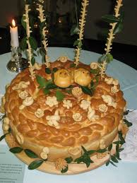 ukrainian thanksgiving korovai ukrainian wedding bread start with an onion