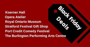 burlington black friday deals top 12 black friday deals in the arts stratford festival reviews