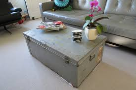 trunk coffee table set unique metal trunk coffee table set at patio charming metal trunk