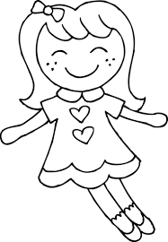 baby doll clipart black white clip art library