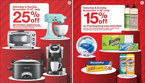 target reveals in series of weekend deals for the season