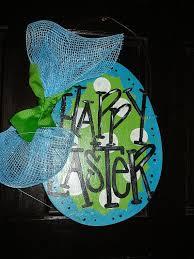 Easter Egg Door Decorations 53 best easter door hangers images on pinterest easter crafts