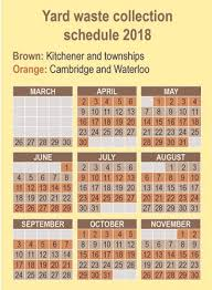 kitchener garbage collection waste management wr on where is yard waste collection