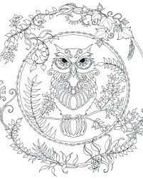 Coloring Pages Thanksgiving Christian Free Owl Adult To Print Kids Coloring Pages Owl