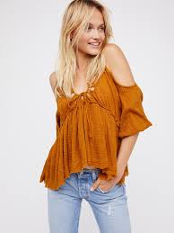 fp one fp one gauze indus top at free people clothing boutique