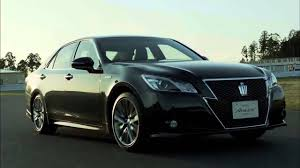 toyota dealer japan 2013 toyota crown 8 speed athlete 4wd royal jdm japan commercial