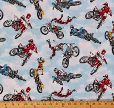 amazon com cotton motocross racing motorcycles dirt bikes bikers