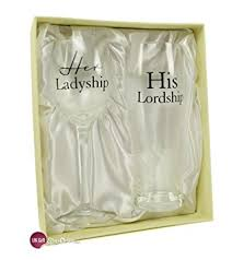 wedding gift hers uk his lordship ladyship wedding gift set co uk kitchen