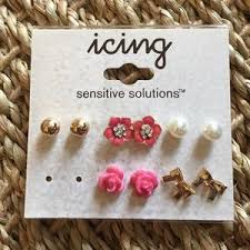 sensitive solutions earrings s 17 h m jewelry h m christmas earring collection from