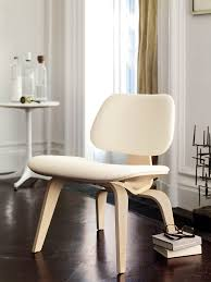 Change Upholstery On Chair by Eames Upholstered Molded Plywood Lounge Chair Lcw Plywood