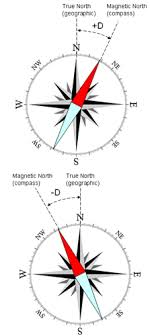 magnetic declination map magnetic declination state cartographer s office uw