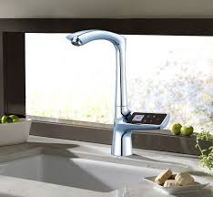 Kitchen Sink Displays Alea Kitchen Sink Faucet With And Cold Mixer