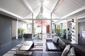 double gable eichler remodel by klopf architecture design milk