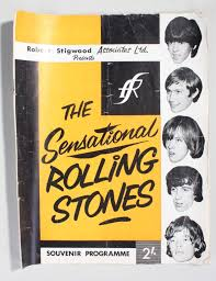 rare signed beatles and rolling stones ipswich concert programmes