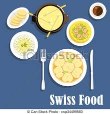cuisine suisse suisse cuisine fondue plats fromage fromage pomme clip