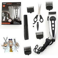 peigne coupe cheveux taille cheveux barbe rasoir 8 accessoires ciseaux peigne coupe