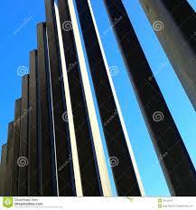 modern fence stock photos image 28142423