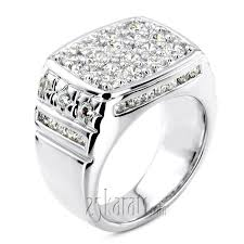 diamond man rings images 268 ct channel and prong set fancy diamond mens ring diamond men jpg