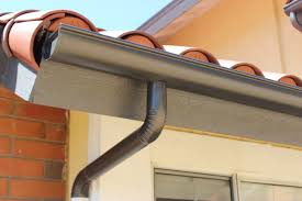 seamless aluminum half round rain gutters with dual colored round