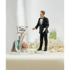 and chain cake topper wedding cake and chain wedding cake toppers and chain
