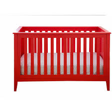 Walmart Convertible Cribs by Lolly U0026 Me Color Me 3 In 1 Convertible Crib Lollipop Red Walmart Com