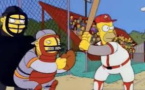 Homer Homer Simpson U0027s Plaque From Baseball Hall Of Fame The Kansas