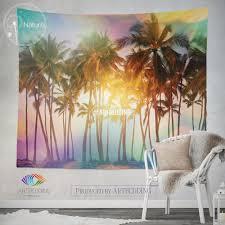 palm tree wall decor wall art palm tree bedroom decor palm tree palm trees wall tapestry tropical beach wall tapestry serenity beach wall decor palm trees wall hanging bohemian wall tapestry