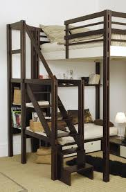 Loft Style Bed Frame And Enjoyable Bunk Bed Ideas Loft Bunk Beds Bunk Bed