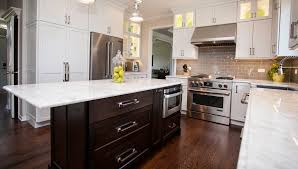 Transitional Kitchen Design Ideas Kitchen Design Naperville The White Paint And Simple Recessed