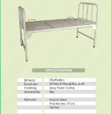 Standard Bed Dimensions Hospital Bed Size