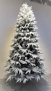 6ft pre lit snowy alpine tree warm white