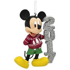 disney mickey mouse 2017 sweater ornament