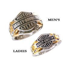 Harley Davidson Wedding Rings by Sterling Silver Harley Davidson Ladies Classic Logo Ringamazing
